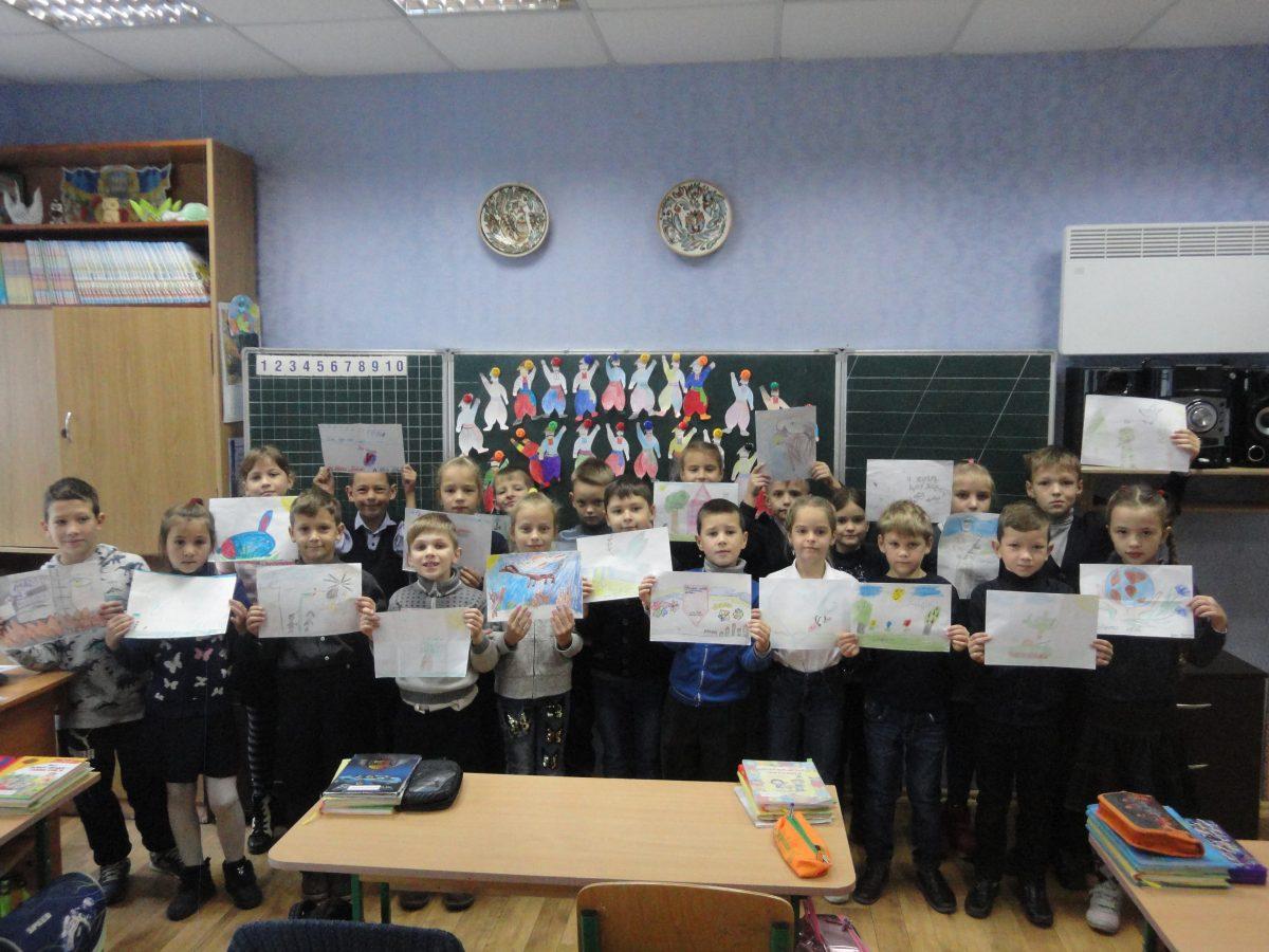 Діти  звертаються до Захисників України