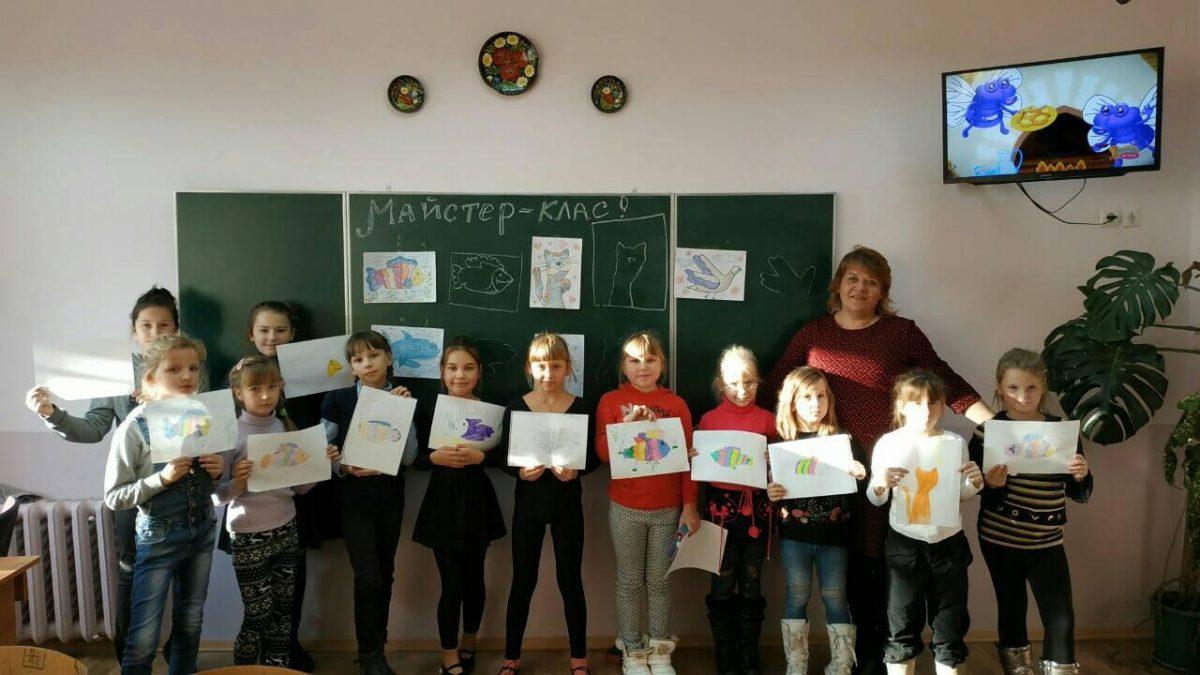Майстер-клас по нетрадиційному малюванні